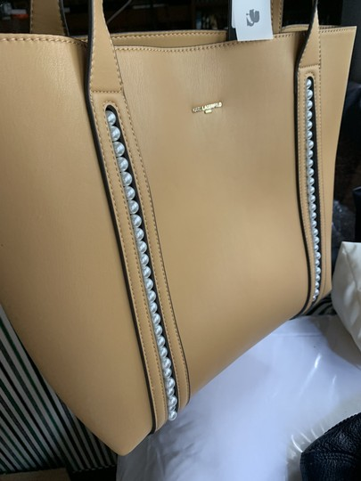 Karl Lagerfeld Pearl Tote in Yellow Image 2