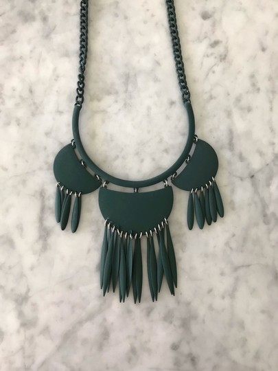 BaubleBar Fringe Bib Statement Necklace Image 1