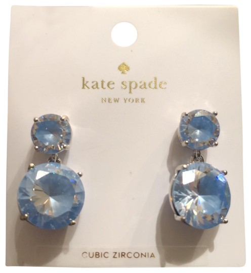 Preload https://img-static.tradesy.com/item/25775422/kate-spade-sky-blue-cz-drops-earrings-0-2-540-540.jpg