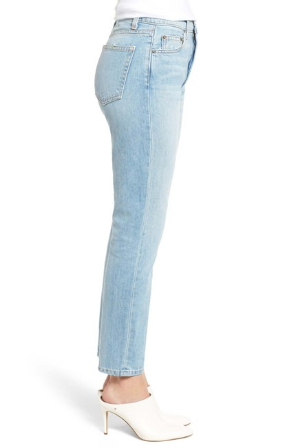 Reformation High Waist Straight Leg Jeans Image 0