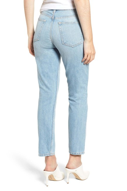 Reformation High Waist Straight Leg Jeans Image 2