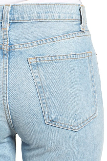 Reformation High Waist Straight Leg Jeans Image 4