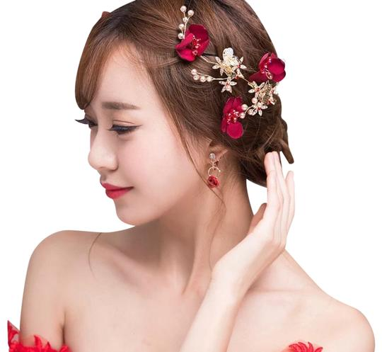 Preload https://img-static.tradesy.com/item/25775440/bride-clip-new-in-box-hair-accessory-0-1-540-540.jpg
