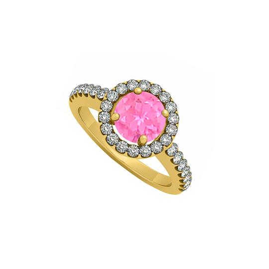 Preload https://img-static.tradesy.com/item/25775536/pink-sapphire-september-birthstone-with-cubic-zirconia-halo-engagement-ring-0-0-540-540.jpg