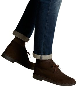 Clarks Brown Suede Boots