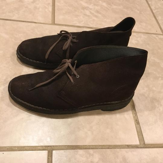Clarks Brown Suede Boots Image 5