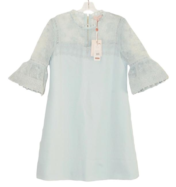 Ted Baker short dress Pale blue Rubbee Cut Out on Tradesy Image 1