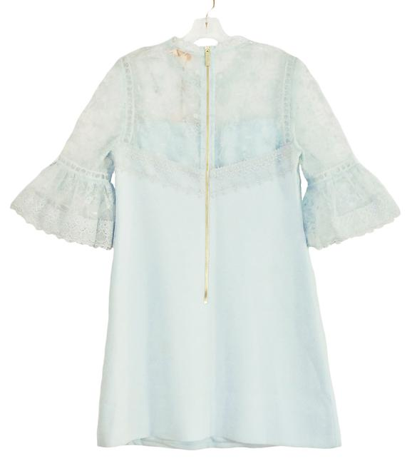 Ted Baker short dress Pale blue Rubbee Cut Out on Tradesy Image 2