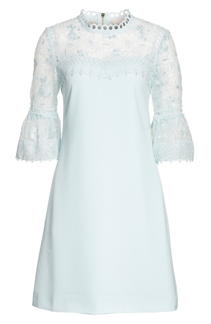 Ted Baker short dress Pale blue Rubbee Cut Out on Tradesy Image 6