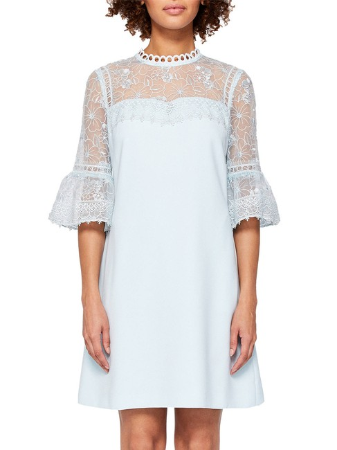 Ted Baker short dress Pale blue Rubbee Cut Out on Tradesy Image 7