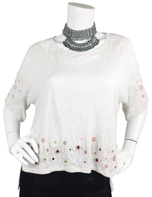 Preload https://img-static.tradesy.com/item/25775654/anthropologie-off-white-cut-out-crop-blouse-size-6-s-0-1-650-650.jpg