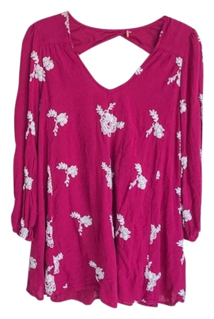 Preload https://img-static.tradesy.com/item/25775674/free-people-berry-austin-swing-embroidered-short-casual-dress-size-4-s-0-1-650-650.jpg