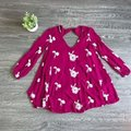 Free People short dress Berry Boho Embroidered Summer on Tradesy Image 4
