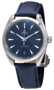 Omega Seamaster Index H-Marker S-Steel Leather Automatic Round Men's Watch