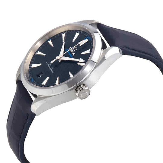 Omega Seamaster Index H-Marker S-Steel Leather Automatic Round Men's Watch Image 1