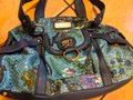 Sharif Handbag Purse New Satchel in Teal, green, blue Image 1