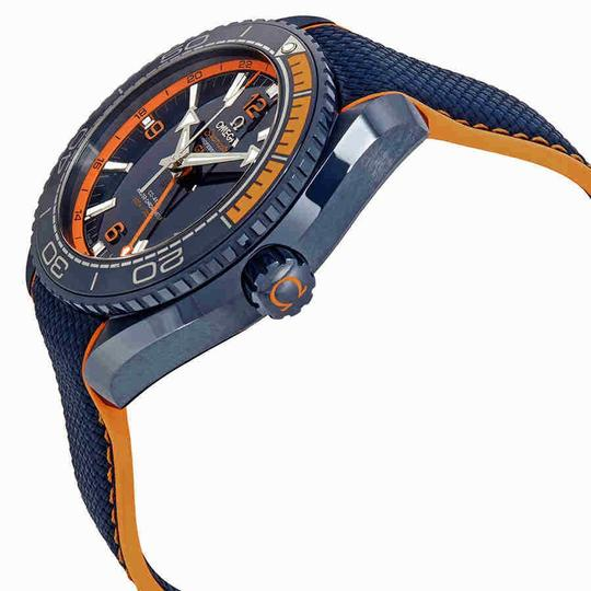 Omega Seamaster Index H-Marker Ceramic Rubber Automatic Round Men's Watch Image 1
