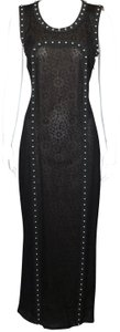 Chanel Little Lace Studded Evening Dress