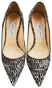 Jimmy Choo Black & White Pumps