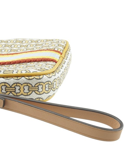 Tory Burch Canvas YellowxMulti-Color Clutch Image 6