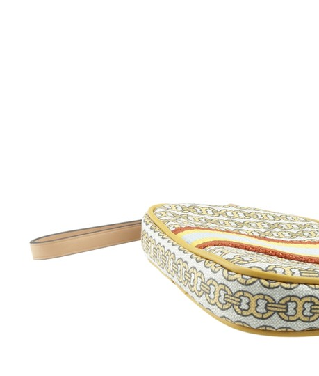 Tory Burch Canvas YellowxMulti-Color Clutch Image 7