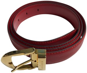 f1aec50ee30 Red Louis Vuitton Belts - Shop designer fashion at Tradesy and save ...