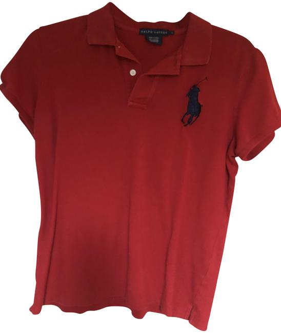 Item - Red Tee Shirt Size 12 (L)