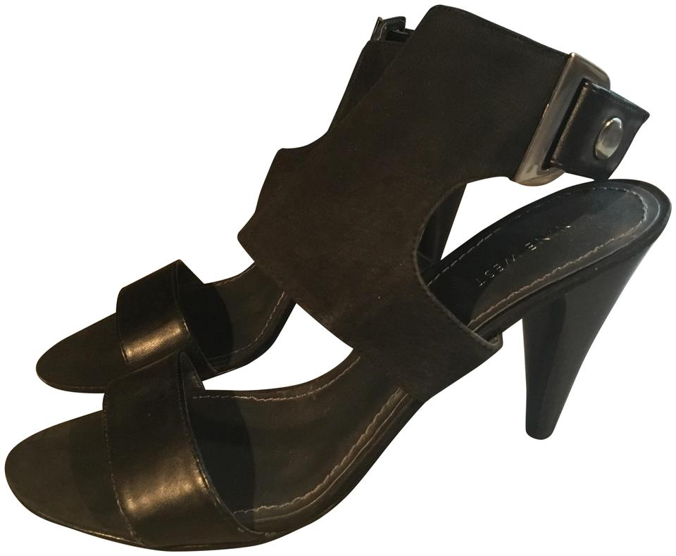 new specials high fashion outlet boutique Black Ankle Strap High Sandals