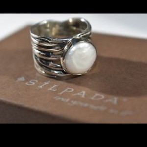 Silpada Silpada Mermaid Pearl Ring