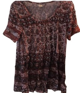 Altar'd State short dress maroon on Tradesy