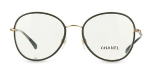 Chanel Chanel Round Green Eyeglasses