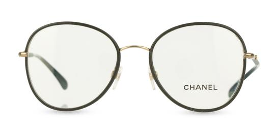 Preload https://img-static.tradesy.com/item/25777533/chanel-green-round-eyeglasses-0-1-540-540.jpg