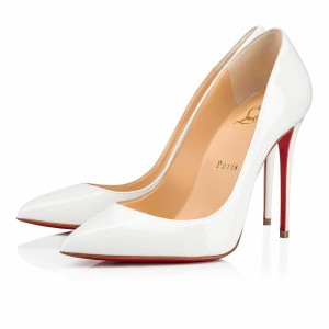 d28cab761c2 White Christian Louboutin Pumps Up to 90% off at Tradesy