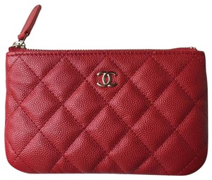 Chanel Chanel Classic 19B Small Red Pouch