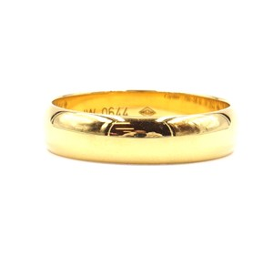 Cartier 18k 1895 Wedding Band Ring Size 58 size 8.5