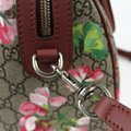 Gucci Beige/Pink Bloom Gg Supreme Coated Canvas Cross Body Bag Image 5