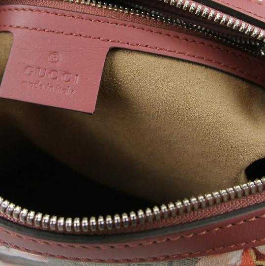 Gucci Beige/Pink Bloom Gg Supreme Coated Canvas Cross Body Bag Image 7