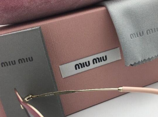 Miu Miu MIU MIU Sunglasses SMU 54R USS-2B0 Red-Gold Heart Shape+Silver Mirror Image 10