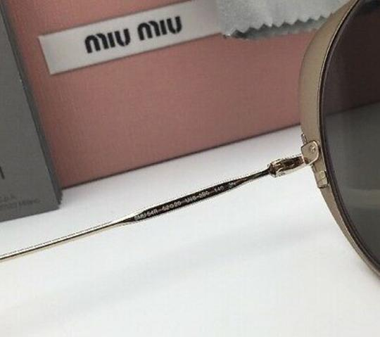Miu Miu MIU MIU Sunglasses SMU 54R USS-2B0 Red-Gold Heart Shape+Silver Mirror Image 2