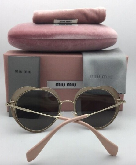 Miu Miu MIU MIU Sunglasses SMU 54R USS-2B0 Red-Gold Heart Shape+Silver Mirror Image 9
