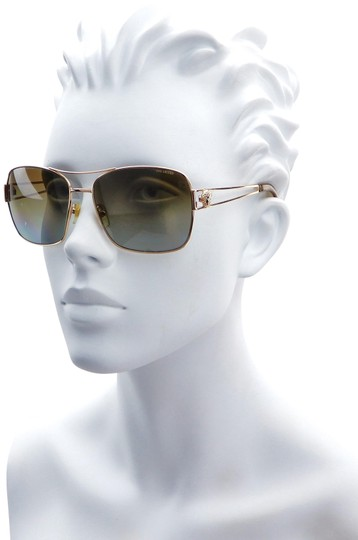 Versace VE2138 1002/T5 59mm Square Aviator Polarized Image 0
