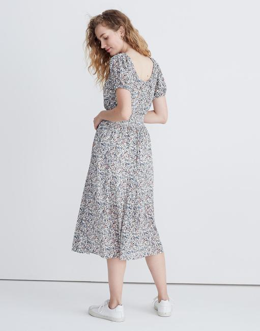 Blue Maxi Dress by Madewell Floral Image 1