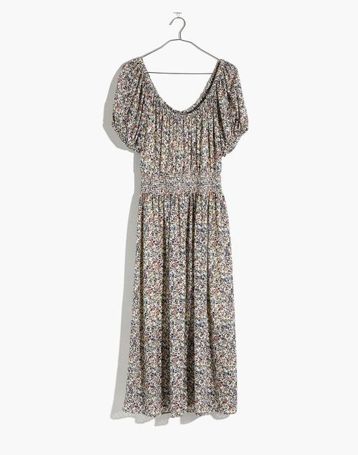 Blue Maxi Dress by Madewell Floral Image 2