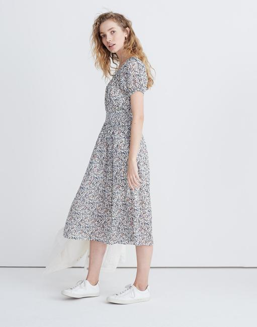 Blue Maxi Dress by Madewell Floral Image 3