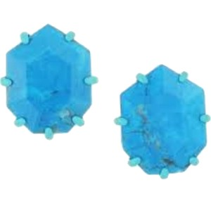 Kendra Scott Kendra Scott Aqua Turquoise Morgan Studs Earrings
