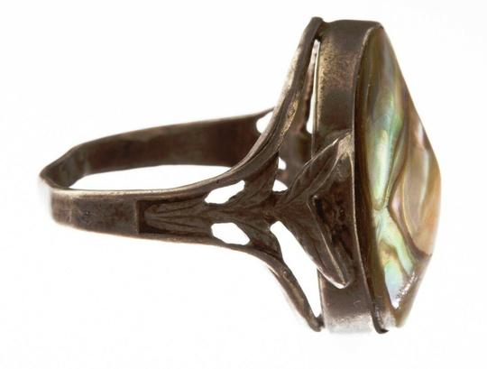 Sterling Blister Pearl Ring Image 2