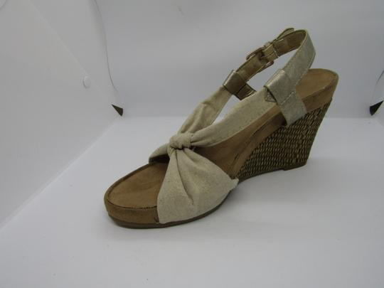Aerosoles Light Gold Wedges Image 3