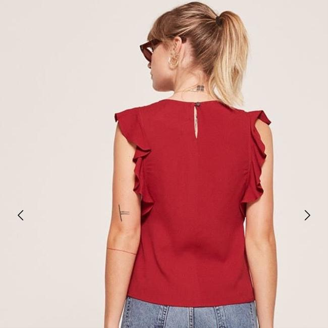 Reformation Top red Image 3