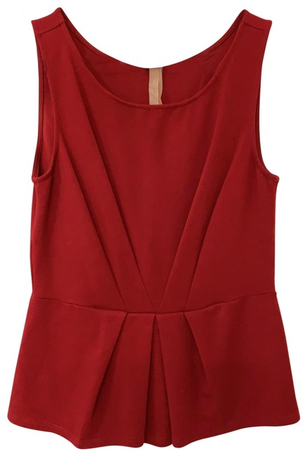 Preload https://img-static.tradesy.com/item/25779001/bailey-44-red-from-anthropologie-tank-topcami-size-10-m-0-1-650-650.jpg