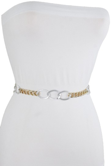 Preload https://img-static.tradesy.com/item/25779006/silver-women-fashion-female-sexy-gold-metal-chain-links-xs-s-m-belt-0-1-540-540.jpg